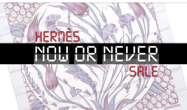 Hermes Now or Never sale